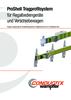ProShell Tragprofilsystem für Regalbediengeräte und Verschiebewagen
