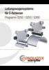 Leitungswagensysteme für C-Schienen Programm 0250 | 0255 | 0260