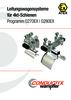 Leitungswagensysteme für 4kt-Schienen Programme 0270 | 0280 ATEX