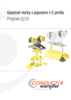 Kabelové vlečky s pojezdem v C-profilu - Program 0230