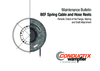Maintenance Bulletin BEF Spring Cable and Hose Reels