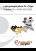 Leitungswagensysteme für I-Träger Programm 0314 | 0320 | 0325 | 0330