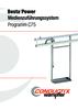 BestaPower Medienzuführungssystem Programm C75