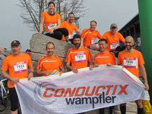 Conductix-Wampfler Laufteam 2016