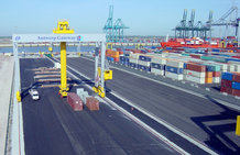 Automated Stacker Cranes of GPT in the Port of Antwerp