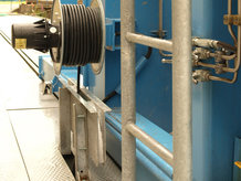 Spring Cable Reel in a Hydropower Plant
