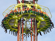 Conductor Rails are used for the elctrification of Free-Fall Tower Amusement Rides